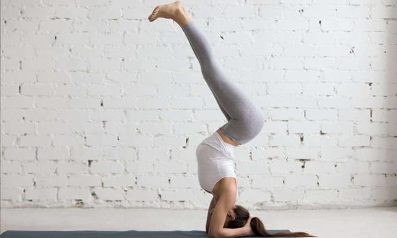 瑜伽初学者如何练习瑜伽倒立